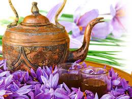 thé safran
