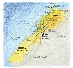 La région du safran