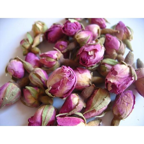 Boutons de rose séchées du maroc